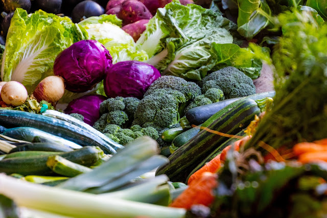 Image of different types Green vegetables