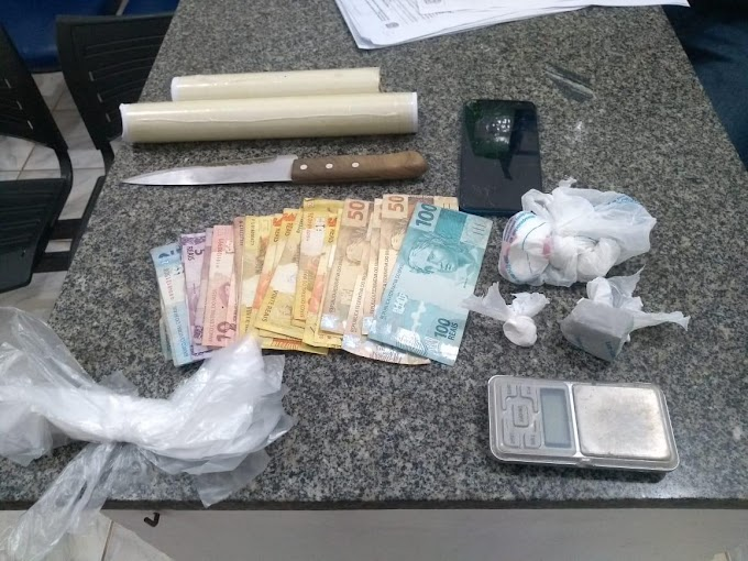 Polícia Civil prende suspeito por tráfico de drogas em Baraúna