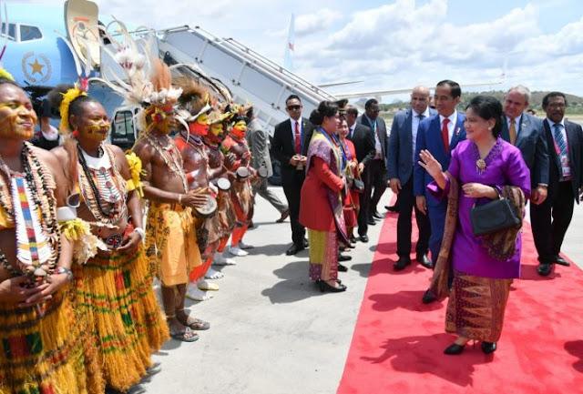 Presiden Jokowi Tiba di Papua Nugini Hadiri KTT APEC