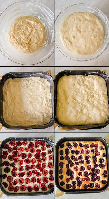 Ciasto drożdżowe bez wyrabiania krok po kroku