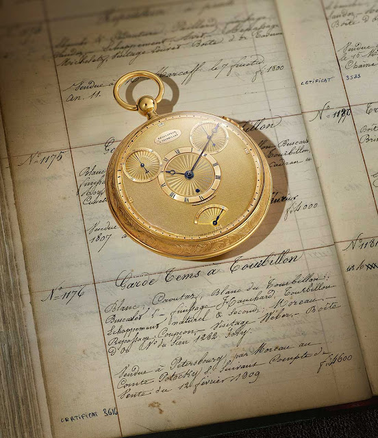 Breguet No. 1176 tourbillon pocket watch