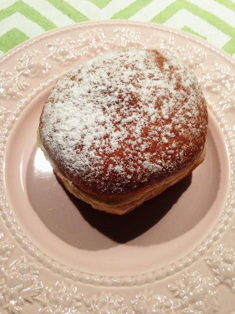 Daniel's Donuts, Springvale, butterscotch doughnut