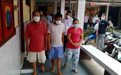 Komplotan Maling Dalam Angkot Mulai Marak, 3 Pelaku Berhasil Diamankan Polsek Percut Sei Tuan