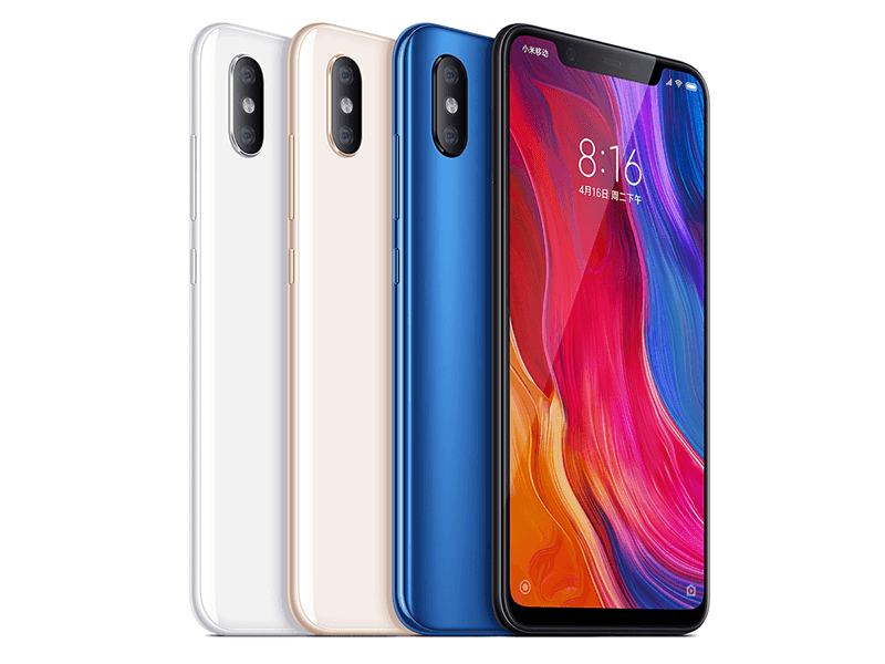 Xiaomi Mi 8 and Mi 8 Explorer Edition flagship phones now official!