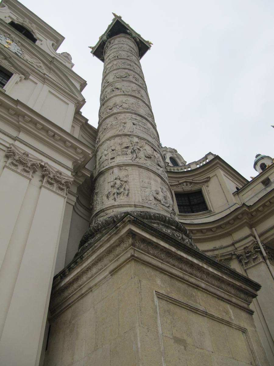 columnas San carlos borromeo de Viena