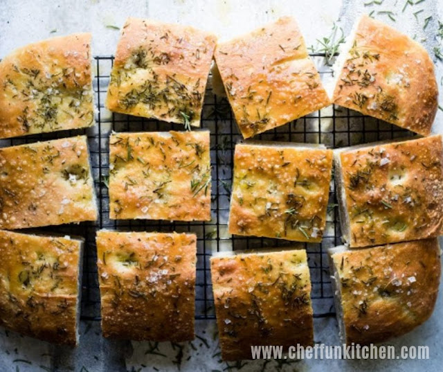 The Best Rosemary Focaccia Bread