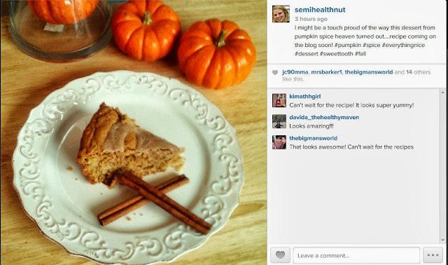 pumpkin spice skillet cookie