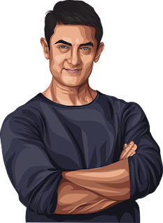 Aamir Khan smile, Aamir Khan left social media, Aamir Khan sketch