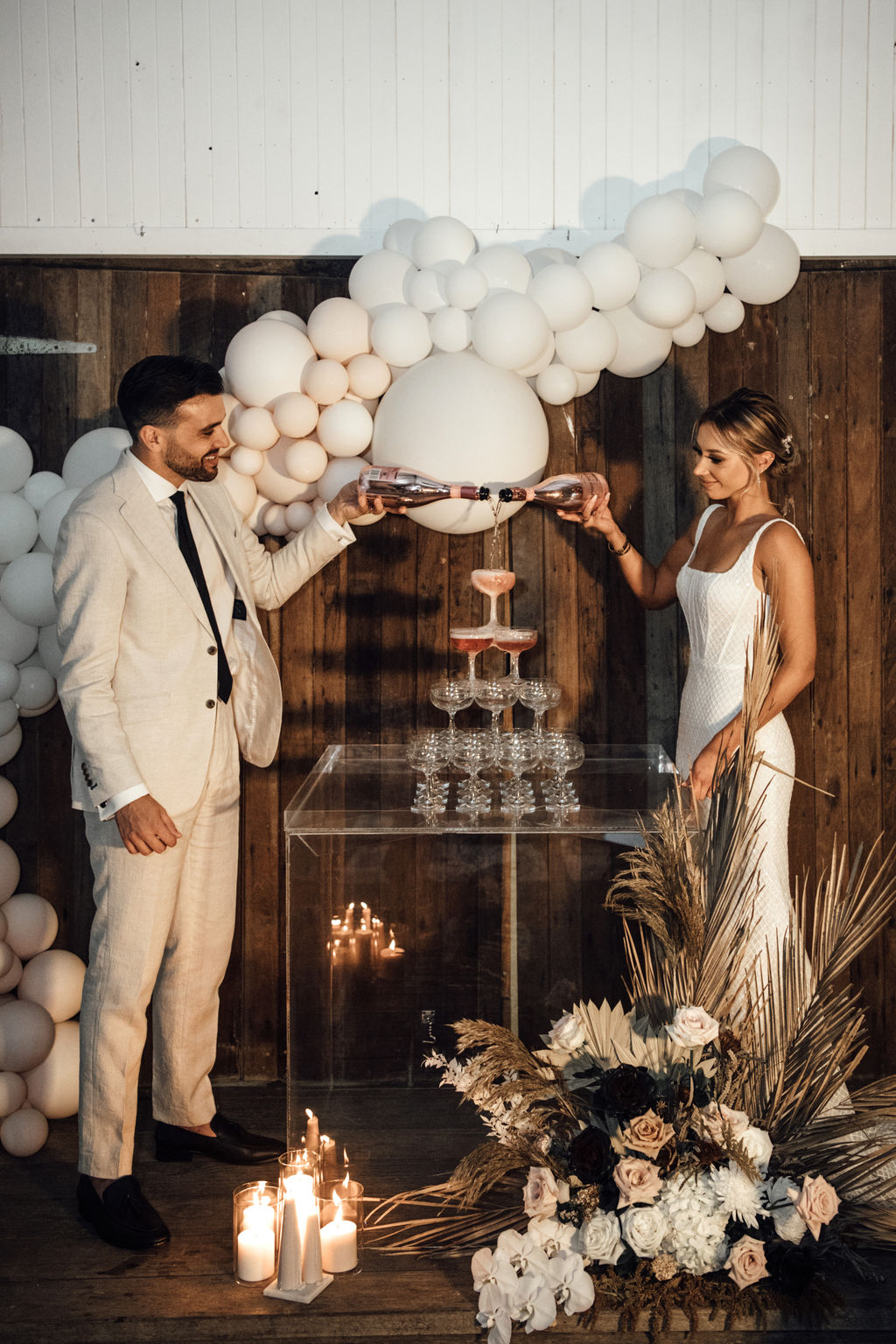 STYLED: BOHEMIAN ROMANCE   MODERN BOHO LUXE WEDDING EDITORIAL GOLD COAST QLD