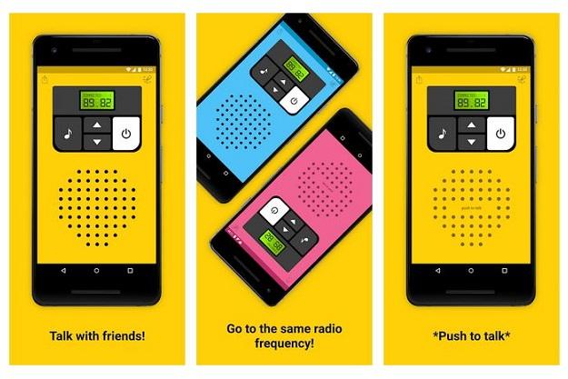 επικοινωνία δωρεάν walkie talkie κλήση