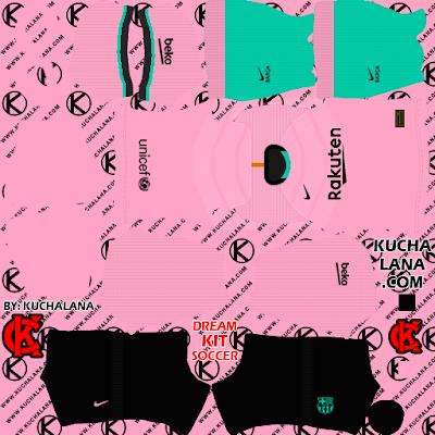 F.C. Barcelona third Kits 2020/21 -  DLS20 Kits