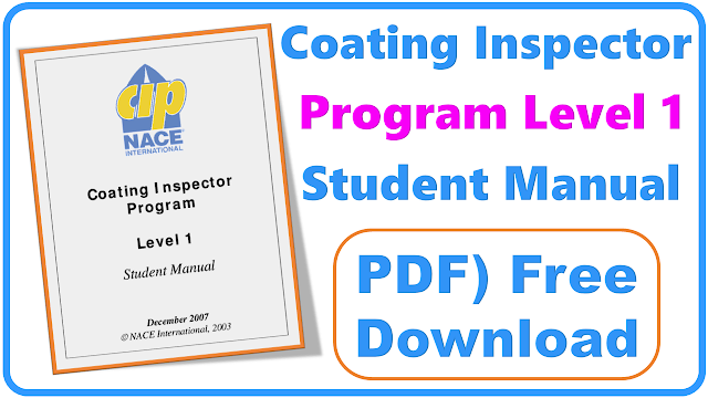 NACE CIP Level 1 student Manual