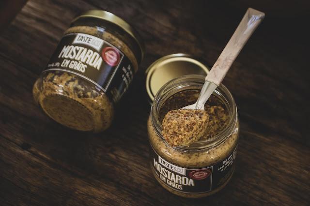 Mostarda em Grãos - Taste & Co