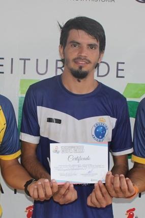 Piçarra FC fecha com maior artilheiro da região de Picos