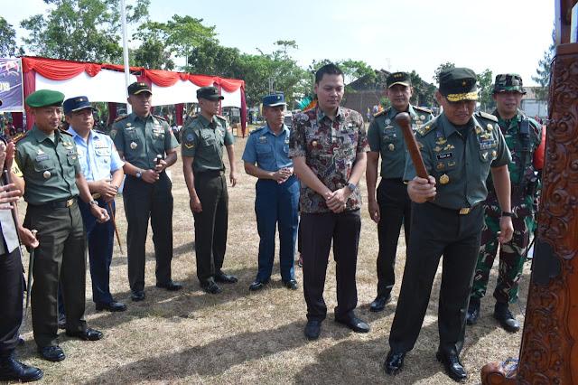 Kasdam IV Diponegoro Pukul Kentongan, Tanda TMMD Ditutup