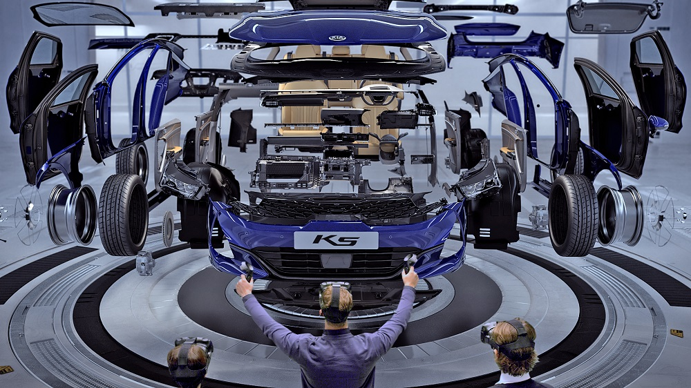 Hyundai and Kia debut virtual reality design evaluation system