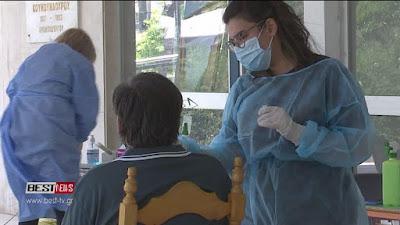 ΕΚΑΤΟΝΤΑΔΕΣ εμβολιασμοί στο Κέντρο Υγείας Καλαμάτας