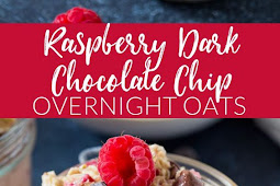 Raspberry Dark Chocolate Chip Overnight Oats
