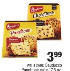 Bauducco Panettone Cake