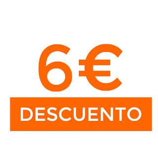 6€ descuento en Yves Rocher  (+40€)