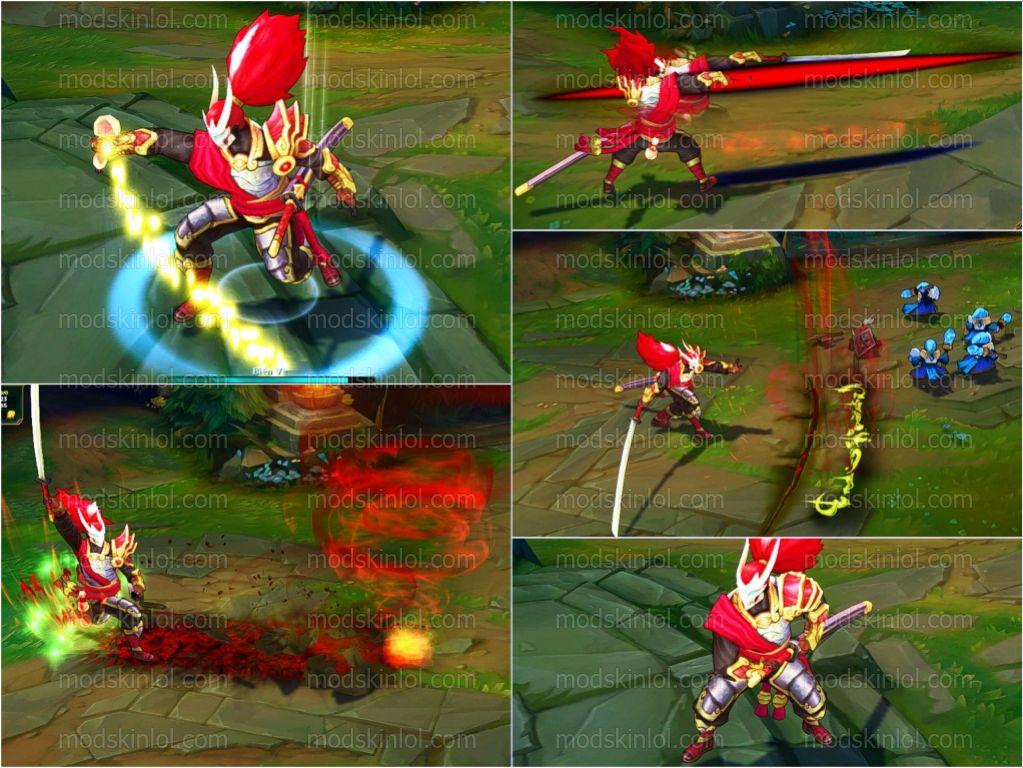 Mod Skin LOL Download Free: Mod Skin Yasuo Royal Guard