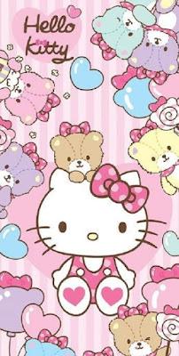 Hello kitty pink lucu