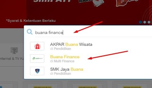 Cek angsuran buana finance online