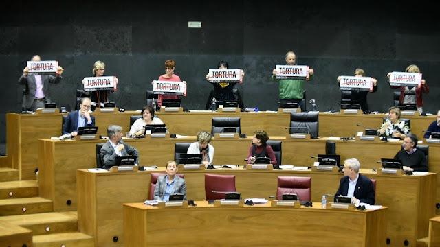 Tortura en el Para-lamento de Navarra