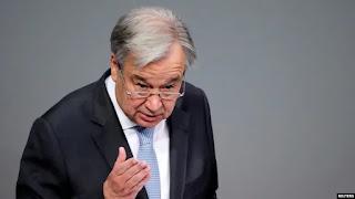 Sekretaris Jenderal PBB Antonio Guterres menyebutkan Planet di Ambang Kehancuran