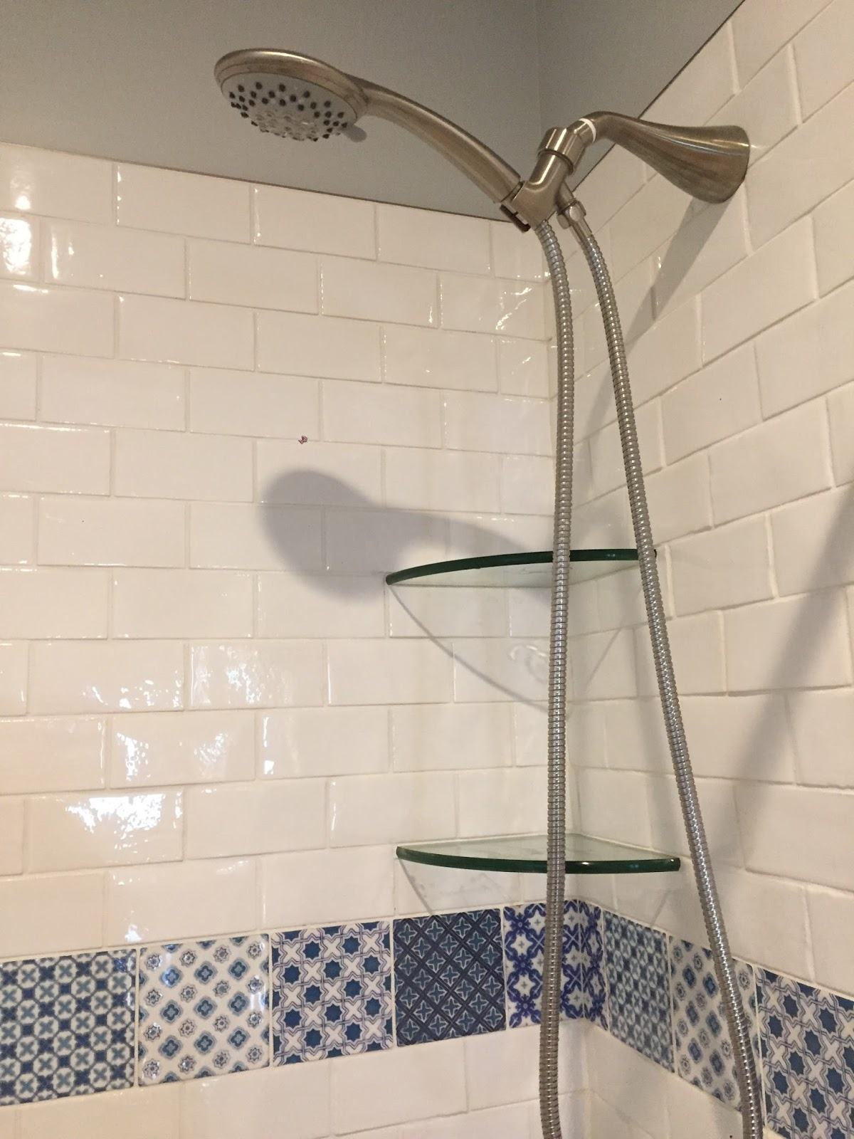delicious rod in shower