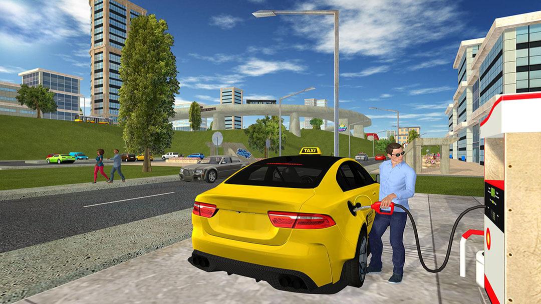 لعبة سيارة اجرة