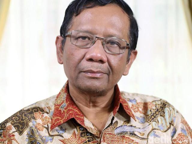 Kata Mahfud MD Soal Mundurnya Yudi Latif dari Kepala BPIP