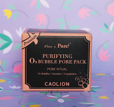 Bubble Pore Pack Mask Caolion, la bubble mask purificante!