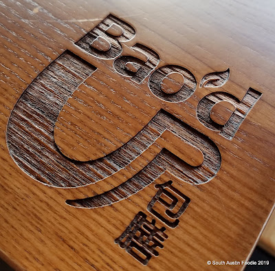 Bao'd Up Sunset Valley logo tables