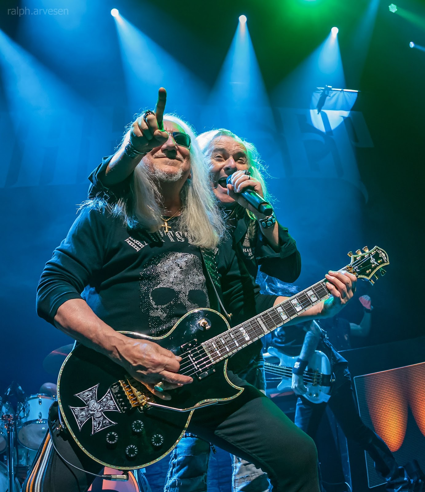 Uriah Heep | Texas Review | Ralph Arvesen