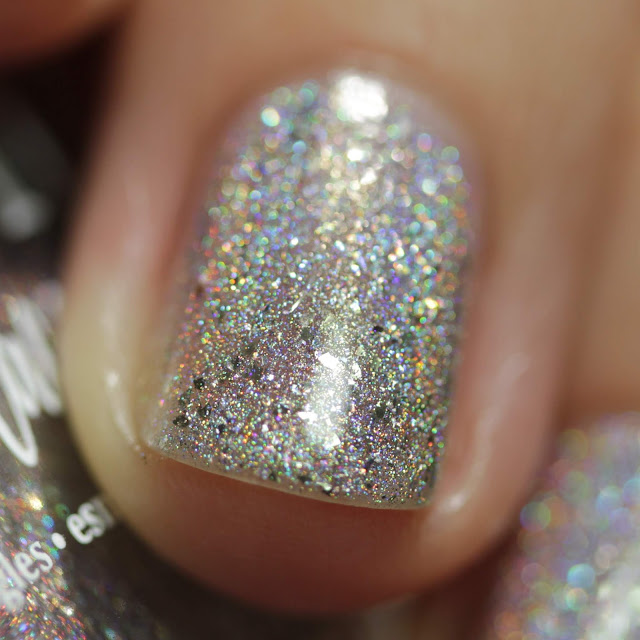 BLUSH Lacquers The Nutcracker Prince swatch by Streets Ahead Style