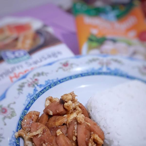 Resep Sahur Praktis Lezat Bergizi untuk Anak : Nasi Gila Sosis dan Bakso SO GOOD