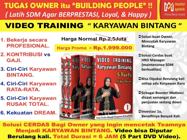 Video Training Karyawan Bintang 2