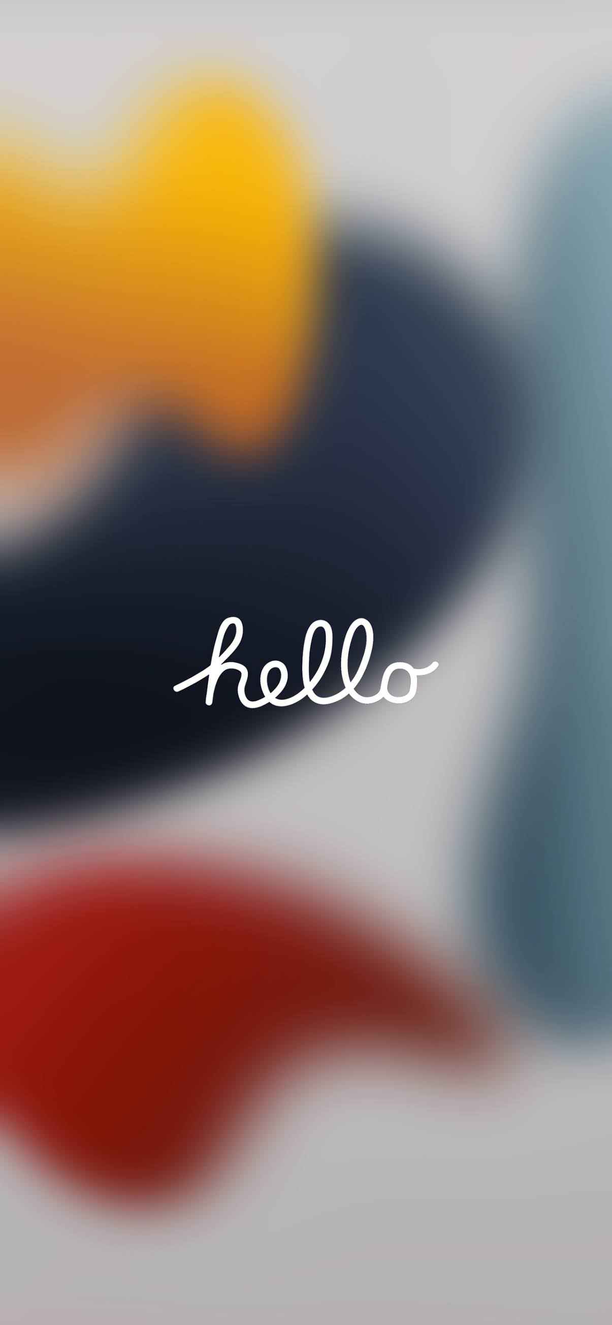hello phone wallpaper