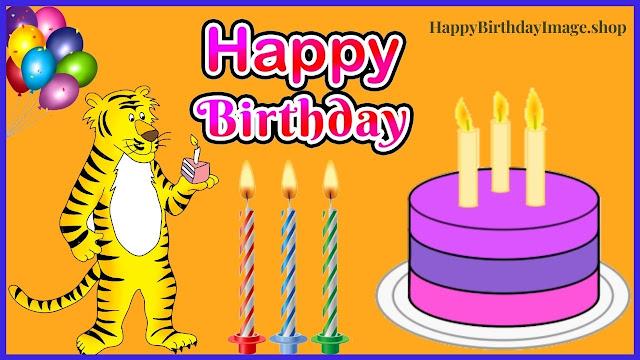 birthday cake wishes images