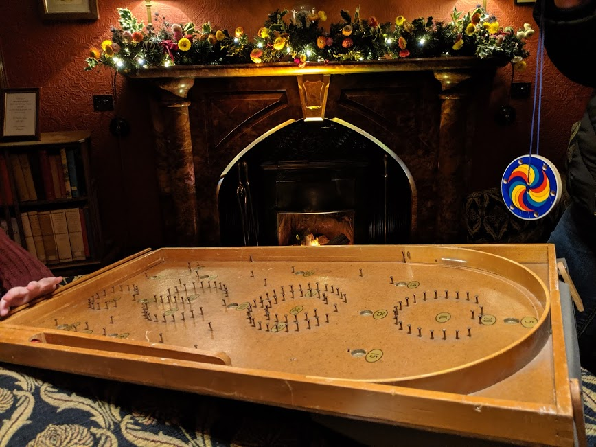 Christmas & Santa at Cragside Review  - Bagatelle Game