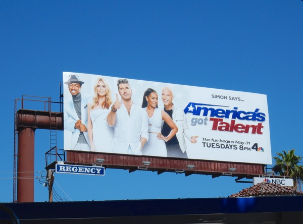 Americas Got Talent season 11 billboard