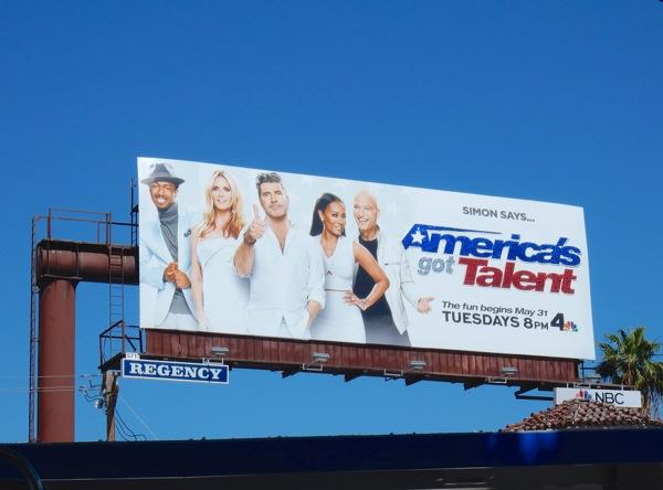 Americas Got Talent season 11 billboard