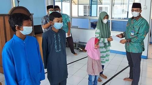 Perumda Air Minum Kota Padang Berkah Bersama Anak Yatim