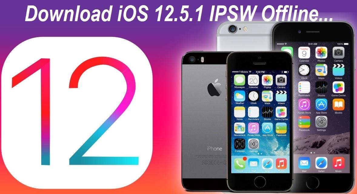 iOS 12.5.1 IPSW