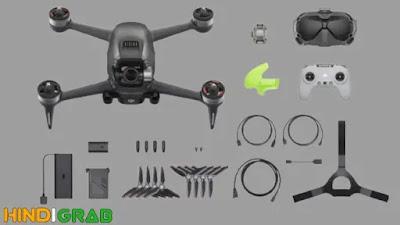 DJI FPV Drone क्या है, Inside Box, Price, and More in Hindi