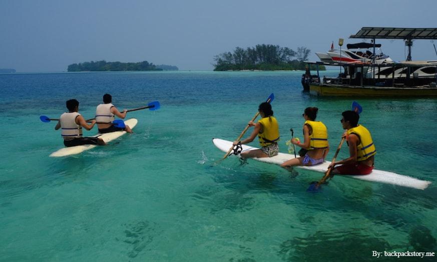 Potret Keindahan Pulau Macan, Cocok Untuk Honeymoon