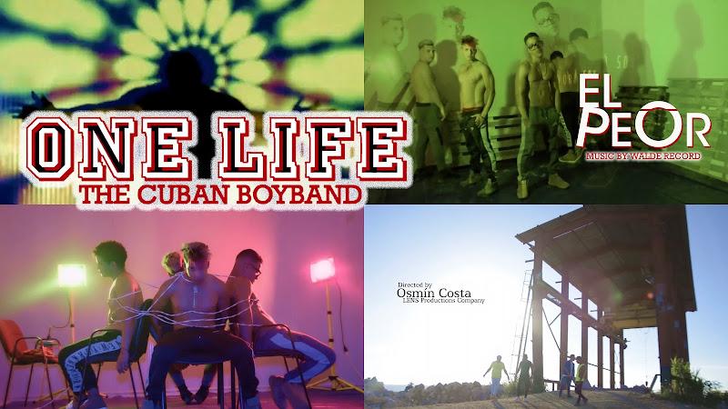One Life - ¨El peor¨ - Videoclip - Director: Osmín Costa. Portal Del Vídeo Clip Cubano