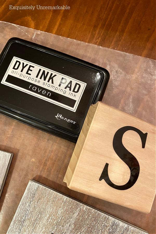 Stamped Coasters DIY