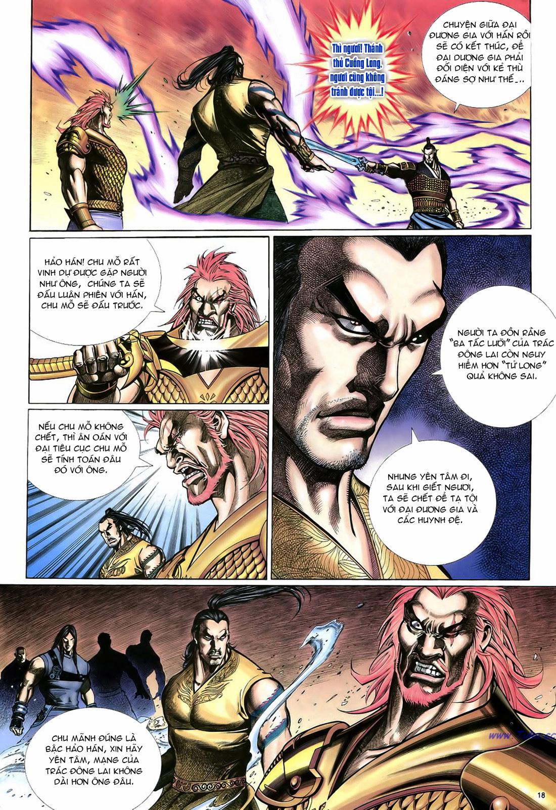 Anh hùng vô lệ Chap 22 trang 19